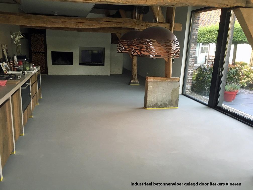 industrieel betonnenvloer